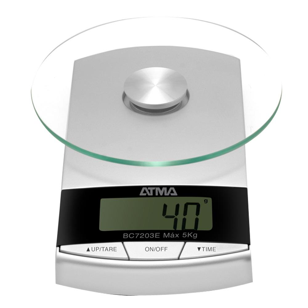 Balanza de cocina atma bc7203n balanzas en mendoza for Basculas digitales para cocina