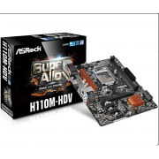 MOTHER ASROCK 1151 H110M-HDV 3.0 HDMI/VGA  S+R