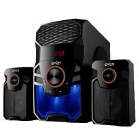 PARLANTES 2.1 OVERTECH OV-165M BLUETOOTH + FM + CTRL REMOTO + LECT USB MEMOS + LUZ AUDIORITMICA