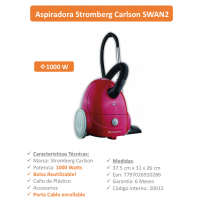 ASPIRADOR STROMBERG CARLSON 1000W SW-AN2