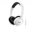 AURICULAR OVER EAR C/MIC PHILIPS SHL5005WT/00 BLANCO