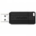PENDRIVE VERBATIM 64GB PINSTRIPE BLACK 49065
