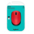 MOUSE LOGITECH WIRELESS M170 RED 910-004941