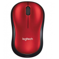 MOUSE LOGITECH M185 RED 910-003635