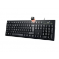 TECLADO GENIUS KB-100 SMART BLACK USB