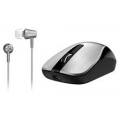 MOUSE GENIUS MH-7018 WHITE INALAMBRICO + AURI IN EAR REGALO