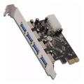 PLACA PCI-E A 4 PUERTOS USB 3.0 NETMAK NM-E340
