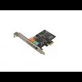 PLACA PCI-E SONIDO 5.1- 6 CH NETMAK NM-E651