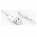 CABLE DE DATOS LIGHTNING WUW BLANCO