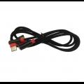 CABLE DE DATOS MICRO USB WUW NEGRO Y ROJO