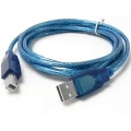 CABLE USB PARA IMPRESORA A TO B 1.8MTS 3.0 NETMAK NM-C42