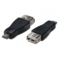CABLE USB(H) A MINI USB 5 PINES(M) OTG NETMAK NM-C75