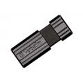 PENDRIVE 64GB VERBATIM PINSTRIPE BLACK 49065
