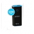 POWER BANK TRV ION/LITIO 5200 MA TIPO BBP001