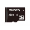 MEMORIA MICRO SD 32 GB ADATA CLASE 4 CON LECTOR DE MEMORIAS