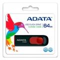 PENDRIVE 64GB ADATA C008 BLANCO Y AZUL/NEGRO Y ROJO