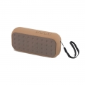 PARLANTE BLUETOOTH MINI TEK CELESTE/MARRON