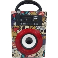 MINI MULTI REPRODUCTOR DE AUDIO USB/TARJETAS/SD/8W/ KAZZ MODELO DS-05.1