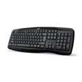 TECLADO GENIUS KB-128 BLACK USB