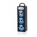 PARLANTE BLUETOOTH ALIVER ALIV-06-2 3X5W FM/USB/SD/AUX TOWER 1 BLUE
