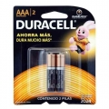 PILAS ALCALINAS DURACELL AAA BLISTER X2 UNI