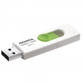 PENDRIVE 3.1 ADATA 32GB WHITE/GREEN AUV320-32G-RWHGN