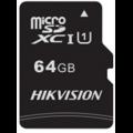 MEMORIA MICRO SD HIKVISION 64GB CLASS 10 W/ADAPTOR HS-TF-C1/64G