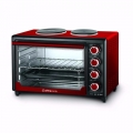 HORNO ELECTRICO ULTRACOMB 40LTS DOBLE ANAFE/CONVE UC-40AC