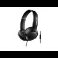 AURICULAR ON EAR C/MICROFONO PHILIPS SHL3075BK/00 NEGRO