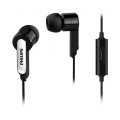 AURICULAR IN EAR C/MICROFONO PHILIPS SHE1405BK/10 NEGRO