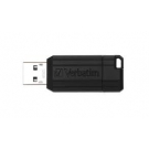 PENDRIVE VERBATIM 128GB PINSTRIPE BLACK 49071