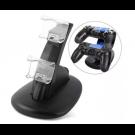 BASE JOYSTICKS CARGADORA DOBLE PS4 NETMAK NM-CH2