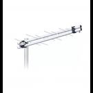ANTENA LOG AQUARIO EXTERNA TELEVISION DIGITAL UHF/HDTV 8 ELEMENTOS ALTA GANANCIA LU-8M