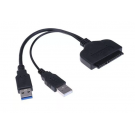 ADAPTADOR USB 3.0 A SATA 2.5 NETMAK NM-SATA3