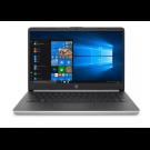 NB HP 14 PULG CI5-1035G4 (10MA)/4GB RAM/128 SSD/W10H/SILVER HP-14-DQ1037WM (TECLADO EN INGLES)