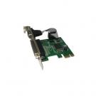PLACA PCI-E PARALELO + SERIE NETMAK NM-E382