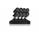SISTEMA DE SEGURIDAD OLEX KIT 8CH WIFI MINIBULLET 1080P