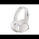 AURICULAR ON EAR BASS CON MICROFONO PHILIPS BLANCO SHL3075WT
