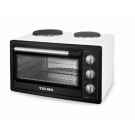 HORNO ELECTRICO YELMO 40LTS YL-40AC DOBLE ANAFE 2000W