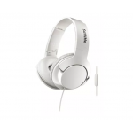 AURICULAR OVER EAR CON MICROFONO PHILIPS BILATERAL BLANCO