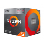 AMD RYZEN 5 3400G QUAD CORE 4.2GHZ YD3400C5FHMPK P/ENSAMBLE SOLO EN PC