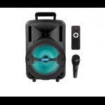PARLANTE BLUETOOTH ALIVER ALIV-8001 8 PULG CON MICROFONO 2200W