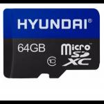 MEMORIA MICRO SD 64GB HYUNDAI SDHC CLASE 10 U1 RETAIL