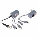 BALUN OLEX VNC CAT5 OL-VBPAV VIDEO+AUDIO+ POWER SET x 4 PARES