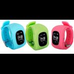 SMART WATCH RASTREADOR POR GPS OLEX-LA GSM/GPS AZUL/VERDE/ROSA