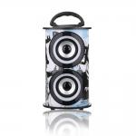 PARLANTE BLUETOOTH ALIVER ALIV-07-1 2X5W FM/USB/SD/AUX MADERA