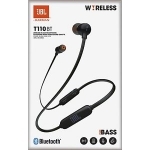 AURICULAR JBL T110 BLUETOOTH BLACK 11000071207