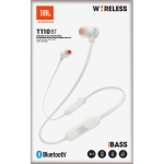 AURICULARES JBL T110 BLUETOOTH WHITE