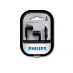 AURICULAR IN EAR CON MICROFONO PHILIPS NEGRO she1405bk/10