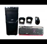 KIT GABINETE BRB OFFICE SBP-100 TEC+PAR+MOU + FUENTE 500W